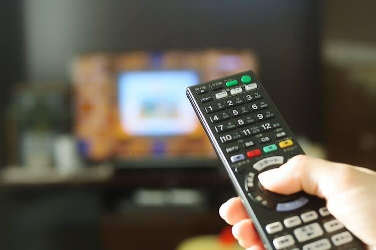 が する テレビ 消え つい たり たり